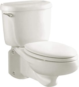 Glenwall Pressure Assisted Wall Mounted Toilet