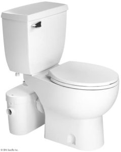 Saniflo Two Piece Round Bowl Toilet