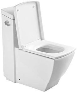 Square Toilet with Soft Close Seat