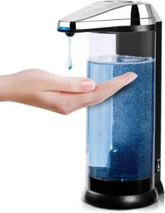 Touchless Battery Operated Electric Automatic Soap Dispenser